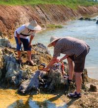geologické práce