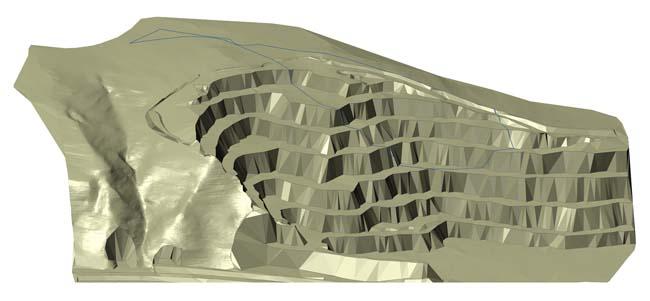vizualizace digitálního 3D modelu