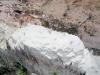 Odkryv kaolinu ve dně bývalé dobývky bauxitu (Topira)