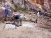Vrtné práce na ložisku kaolinu (Warababaru)