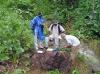 Geologická dokumentace v jamajském terénu