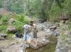 Dokumentace a vzorkování vulkanitů v zářezech potoků