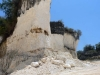 Místní těžba vysokoprocentního vápence pro výrobu kameniva