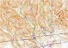 Ukázka mapy zájmového území