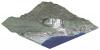 Digitální 3D model projektované těžby