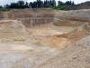 Jedna z těžeben křemenných písků (oligocén)