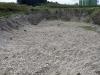 Část těžebny štěrkopísku z teras Dunaje (pleistocén)