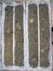 Příklad vrtného jádra: štěrkopísek z teras Dunaje (pleistocén)