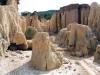 Eroze terciérních sedimentů u Yay