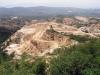 Těžba keramických jílů na ložisku Cabrera